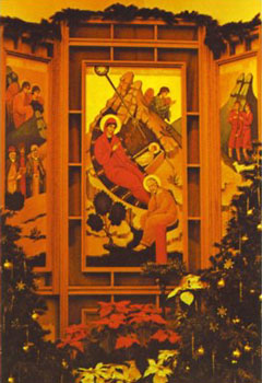 Nativity Icon, Mother House Chapel, Sisters of St. Basil the Great, Uniontown, Pennsylvania