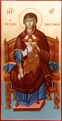 Theotokos Enthroned